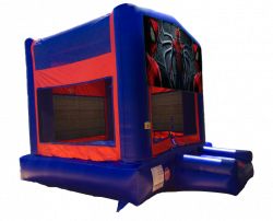 Spiderman Red/Blue/Yellow Bounce House