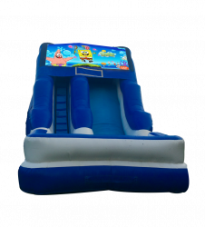 Spongebob Squarepants 16'Wet OR Dry Slide