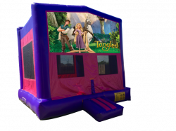 Tangled Pink/Purple Bounce House
