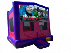 Thomas The Train Pink/Purple Bounce House