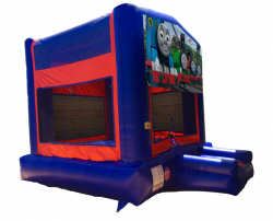 Thomas The Train Red/Blue/Yellow Bounce House