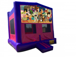 Toy Story Pink/Purple Bounce House