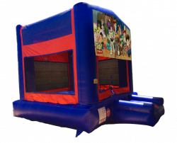 Toy Story Red/Blue/Yellow Bounce House