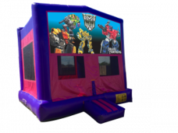 Transformers Pink/Purple Bounce House