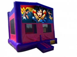 Wonder Woman Pink/Purple Bounce House