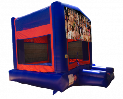 WWE Red/Blue/Yellow Bounce House