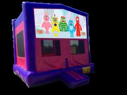 Yo Gabba Gabba Pink/Purple Bounce House
