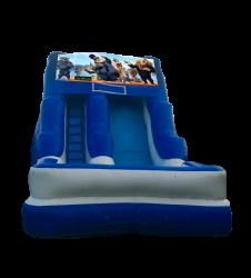 Zootopia 16'Wet OR Dry Slide