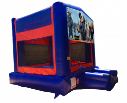 Zootopia Red/Blue/Yellow Bounce House