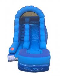 12ft Blue Marble Slide - $200