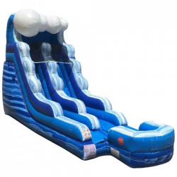15ft Tidal Wave Marble Dry Slide - $225