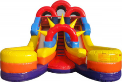15ft Double Lane Water Slide - $300
