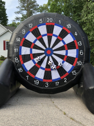 Inflatable Soccer Dart Board - $200