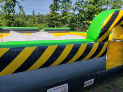 Foam pit dance inflatable