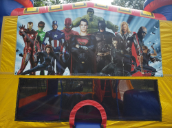 Super Heroes Combo 4 in 1 Large