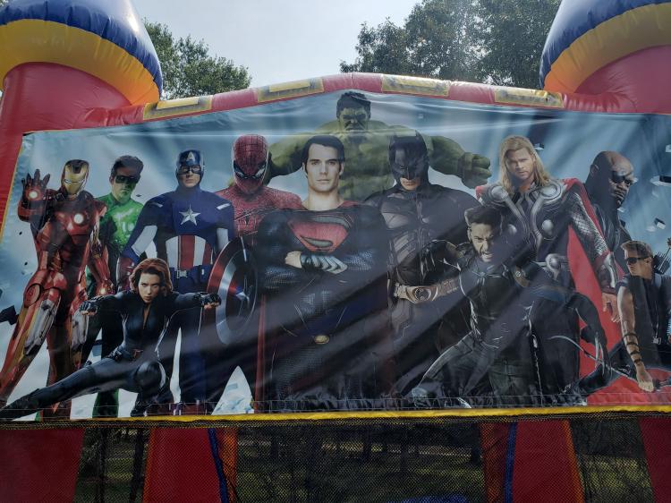 Super Heroes Large Castle
