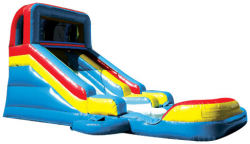 Slide N Splash with pool