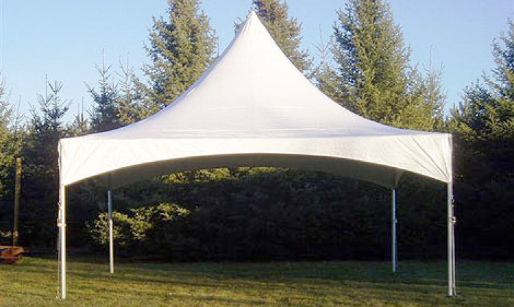 20x20 High Peak Frame Tent - Jump Around