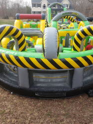 90 Foot U-Turn Obstacle Inflatable