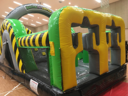75 foot Obstacle Course