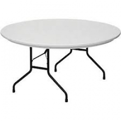 Table, round 5 foot