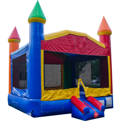 Rainbow Fun Castle
