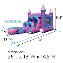 Kids Pink Marble Wet/Dry Combo