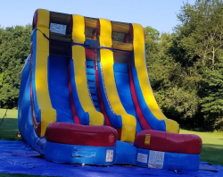 18' Double Lane Water Slide - Wet Or Dry