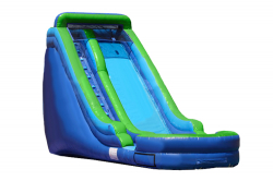16 foot dry slide. From: $165