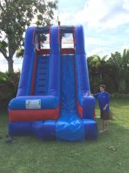 17' Palm Beach Pool Slide *(18L 11W 17H)