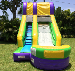 14 Foot Splash Slide (WET/DRY) *(22L 14W 14H)
