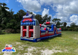 1 1631823502 NEW 40' Patriot Challenge Obstacle Course