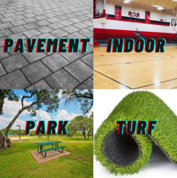 Surface Fee (Pavement/Park/Turf/Indoor)