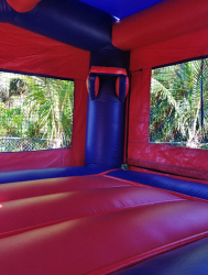 BOUNCE HOUSE 2 IN 1 (with hoops) *(15L 15W 16H)