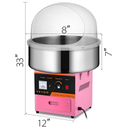 Residential Cotton Candy Machine(Pink)