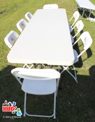 8 Foot Adult Table *(Setup/Breakdown Not Included)