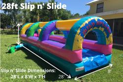 28' Slip 'n Slide *(28L 8W 7H)