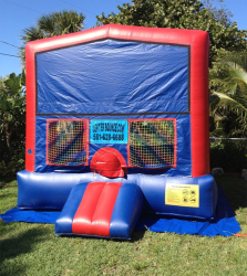 ***Classic Bounce House (NO-CASTLE-ROLL UP WINDOW) *(15L 17W