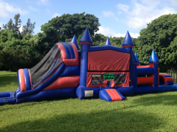 The Ultimate Supreme (5 in 1 double + 18 foot castle Obstacl