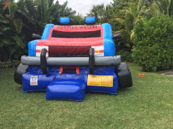 IMG 0038 2 161368 Monster Truck Bounce House (19L 16W 11H)