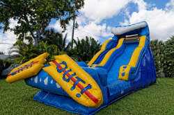 20' Wipe Out Water Slide WET/DRY *(36L 14W 20H)