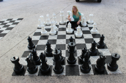 IMG 2244 738920021 Giant Chess (8'L 8'W)