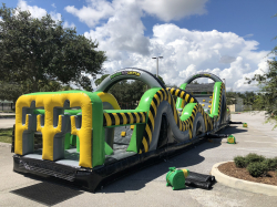 ***65' Obstacle Course *(65L 11W 16H)