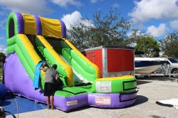 IMG 9380 259677 14' Splash Slide (WET/DRY) *(22L 14W 14H)