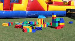 Giant Legos (Approximately 100 Pieces)