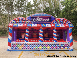 Grand Midway Carnival (Inflatable Midway Booth) * 20'W x 8'L