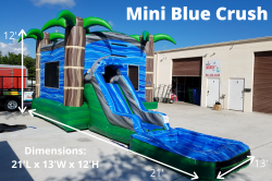 Mini Blue Crush Combo 826045642 Mini Blue Crush Combo *(21L 13W 12H)
