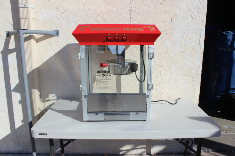 Popcorn Machine (supplies for 40)- 5 packets, 40 bags