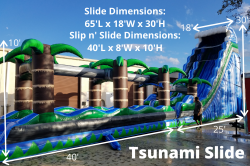 Tsunami 195632188 **30' Tsunami *(65L 18W 30H)