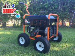 Generator 5500 watts or up (up to 6 hour run time)